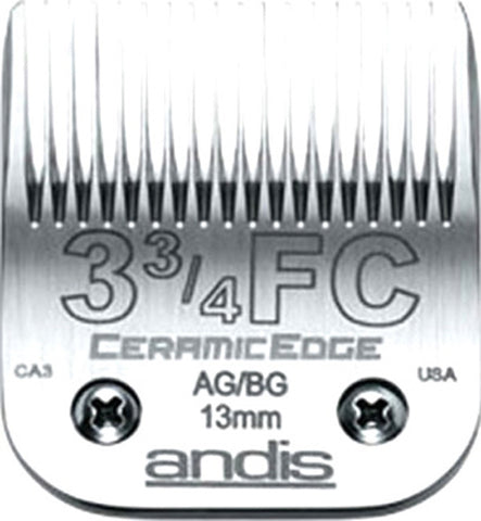 02004 - Andis(64435) Ceramic Clipper Blades AG/AGC/AGR/MBC Size 3F