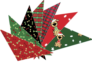 COZMO CHRISTMAS BANDANAS - Assorted Patterns  72 Pack