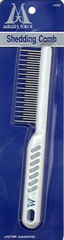 Shedding Comb w/ plastic handle