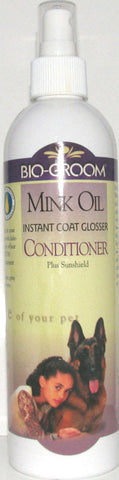 Bio-Groom Mink Oil Spray, 12 oz.