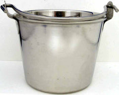 Stainless Steel Pail w/ handle - in 5 sizes
