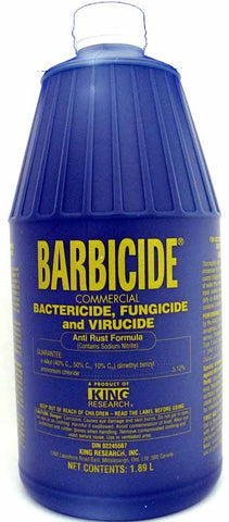 Barbicide Disinfectant, 1/2 Gallon