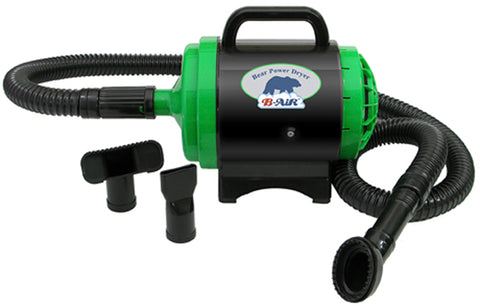 Bear Power Dryer with 1 Motor and 2 Speeds