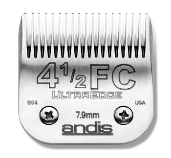 02114 - Andis (63150) Steel Clipper Blades AG/AGC/AGR/MBC Size 4.5F Finish