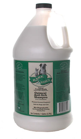BARK 2 BASICS  Oatmeal Anti-Itch Shampoo, 16-1