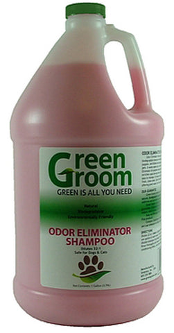 GREEN GROOM Odor Eliminator Shampoo, 32:1