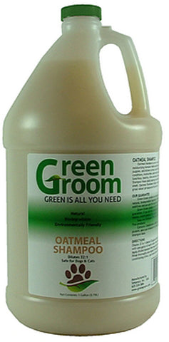 GREEN GROOM Oatmeal Shampoo, 32:1