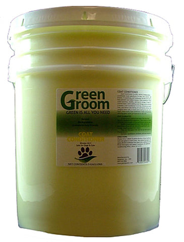 GREEN GROOM Coat Conditioner, 32:1, 5 Gallon Jug