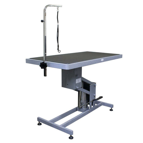 "PAW BROTHERS  Hydraulic Table with Grooming Arm  24"" W x 48"" L"