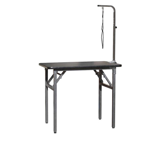 "Grooming Table w/ARM CLAMP HD Legs & Rubber Top, 30""L x 18""W x 33""H (Small)"