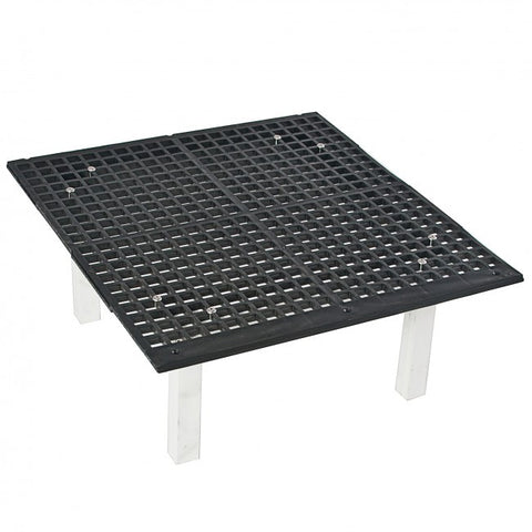 "Raised Floor Grate 24"" x 24"" x 4"""