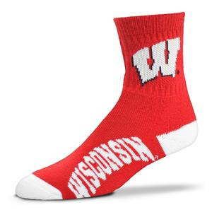 Wisconsin Badgers - Team Color Style 501 LARGE