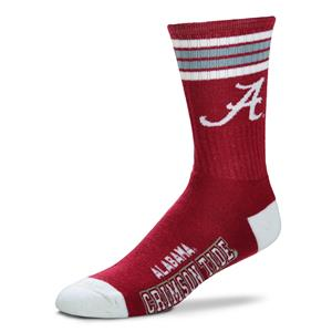 Alabama Crimson Tide - 4 Stripe Deuce Style 504 MEDIUM