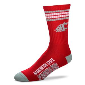 Washington State Cougars - 4 Stripe Deuce Style 504 LARGE
