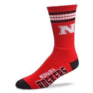 Nebraska Cornhuskers - 4 Stripe Deuce Style 504 YOUTH