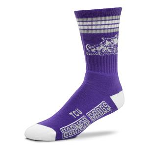 TCU Horned Frogs - 4 Stripe Deuce Style 504 MEDIUM