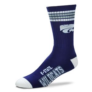 Kansas State Wildcats - 4 Stripe Deuce Style 504 MEDIUM