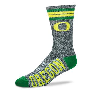 Oregon Ducks - Marbled 4 Stripe Deuce Style 504MAR LARGE