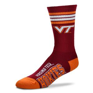 Virginia Tech Hokies - 4 Stripe Deuce Style 504 MEDIUM