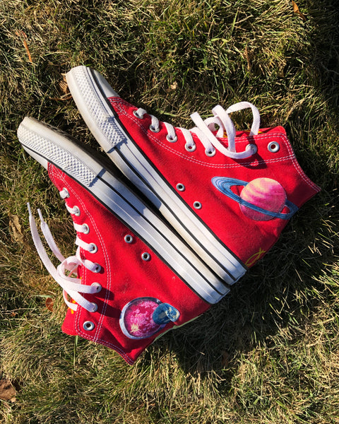 Damnaged Evilution Converse