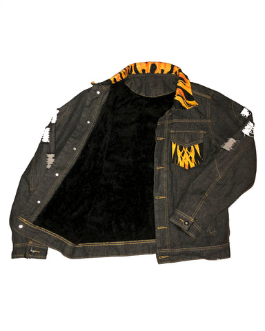 OG Damnaged Flame Jacket
