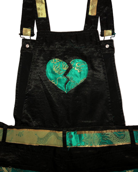 """Year of the Damned"" Women's Silk Overalls"
