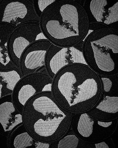 Damnaged Heart Logo Patch