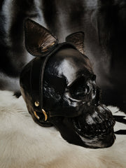 FELIX Leather Cat Ears Headband