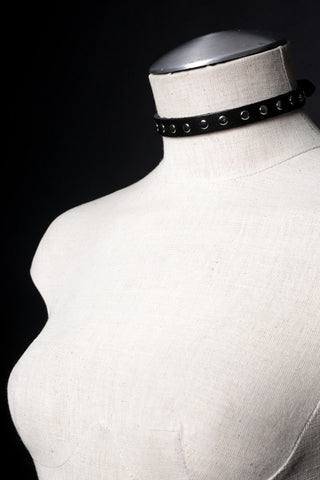 SHEENA Studded Choker Necklace & Bracelet