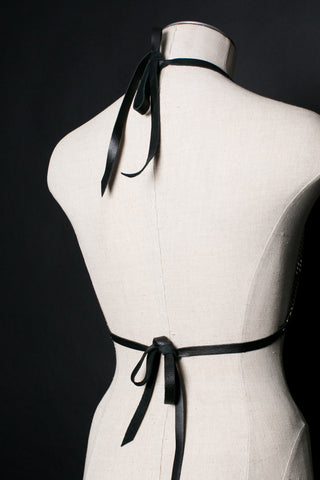 Halter Chain Bra Wrap Harness