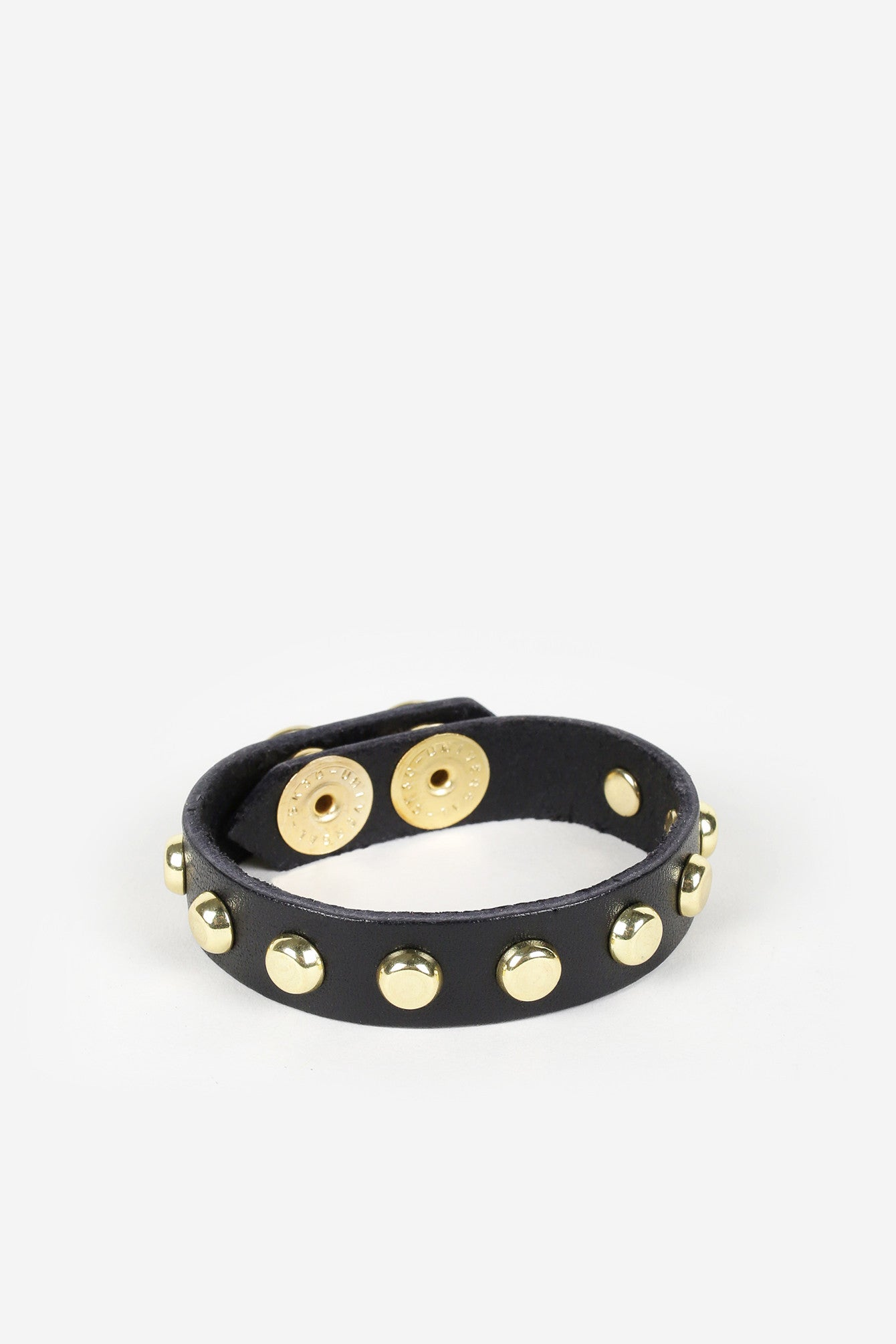 Sheena Studded Leather Bracelet - JAKIMAC  - 1