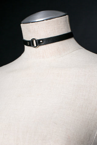 Mini O-Ring Choker Necklace