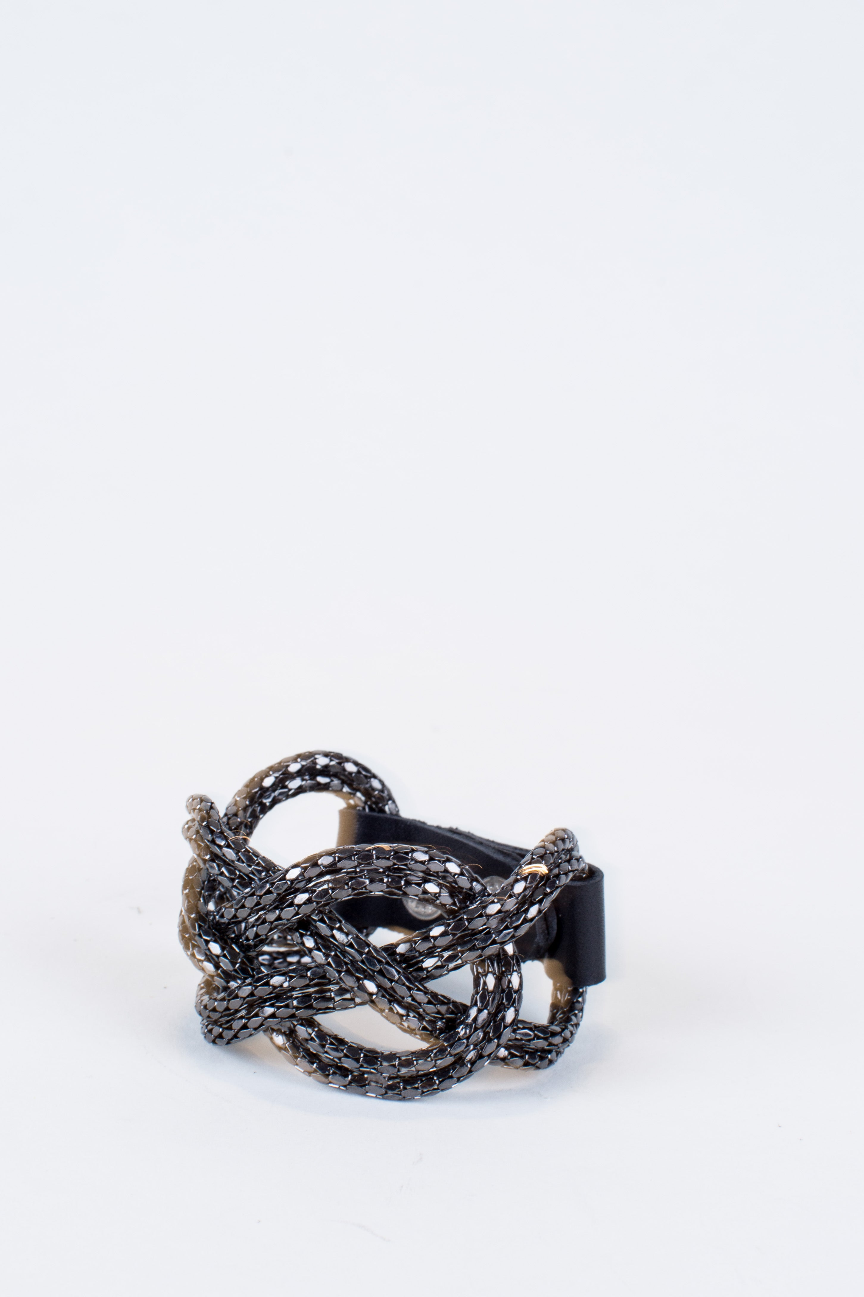 Figure Eight Knotted Cuff