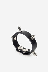 Sid Studded Leather Bracelet - JAKIMAC  - 1