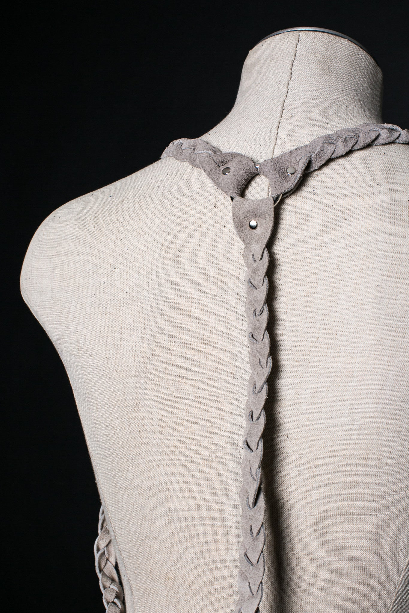 Braided Suede Harness - JAKIMAC  - 5