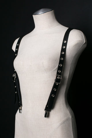 Titania Leather Suspenders