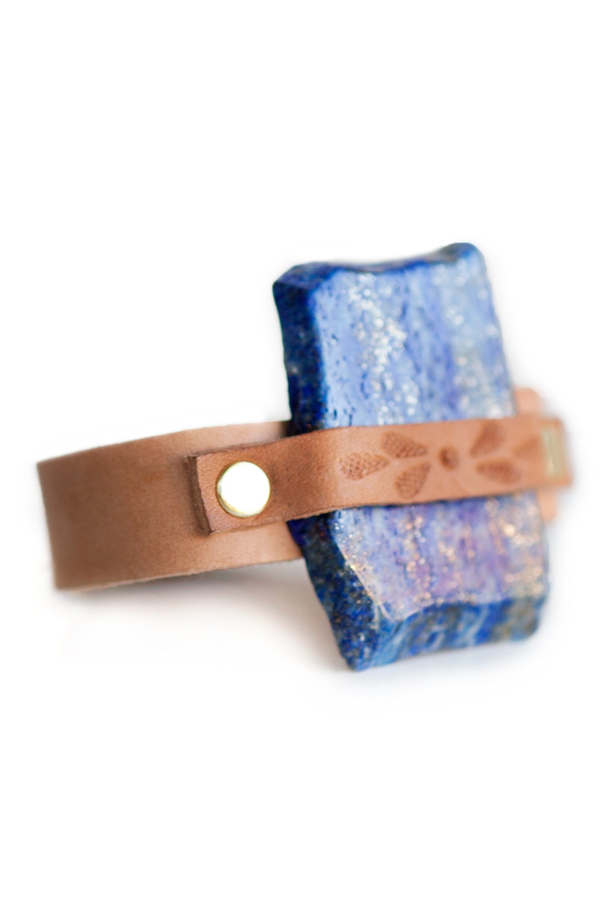 SUMMIT BLUE LAPIZ CUFF