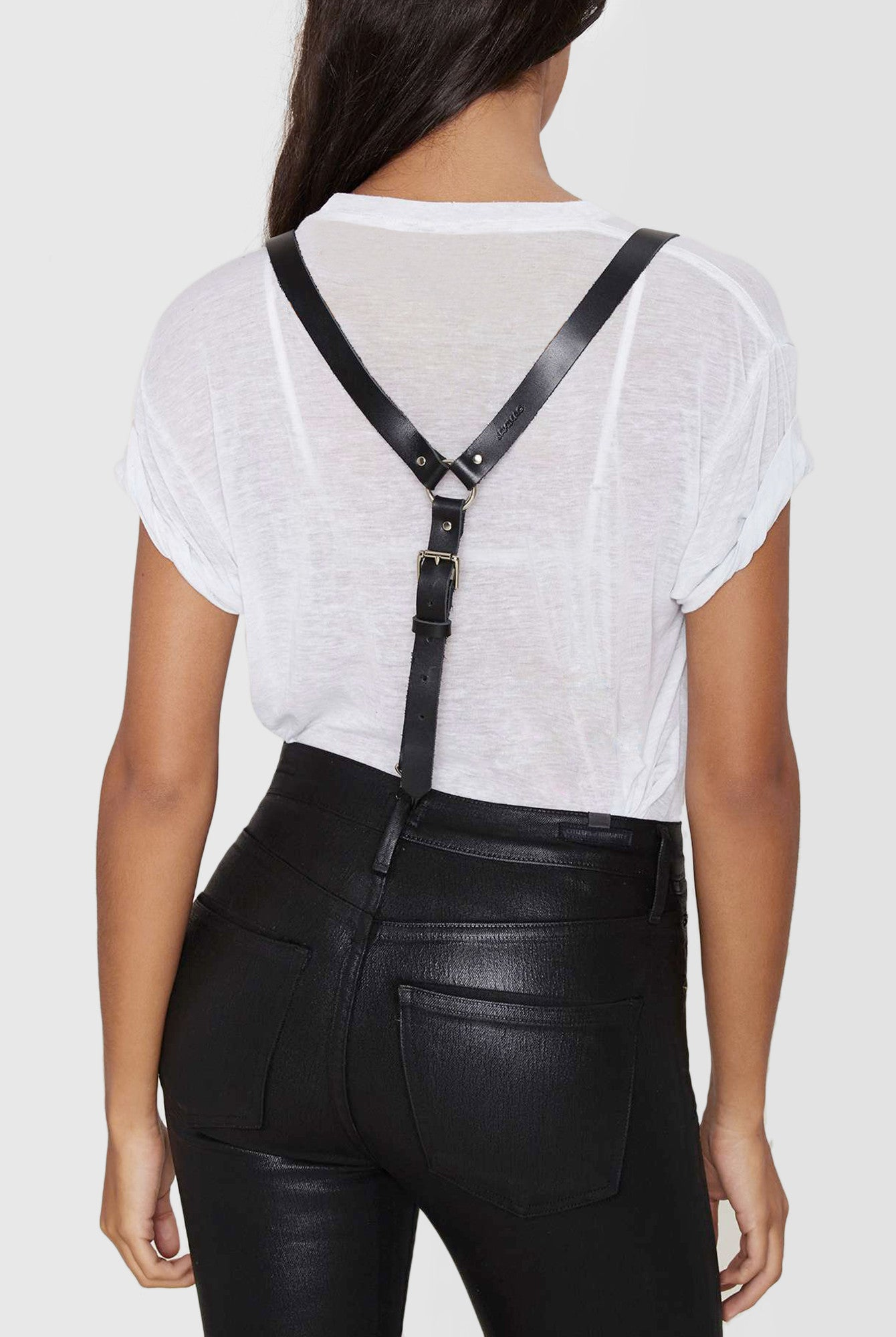 Leather Suspenders For Women By Jakimac  Shop Now-1974