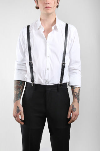 NYX Leather Suspenders