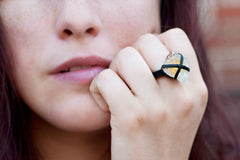 Citrine Ring - JAKIMAC  - 2