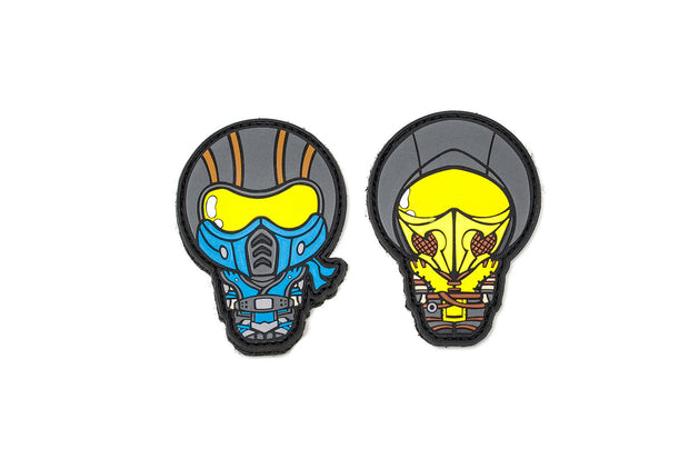 """APEX Subzero"" and ""APEX Scorpion"" Patches by Aprilla Design™"