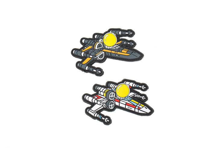 "APEX™ ""X-WING"" Patch Set by Aprilla Design™"