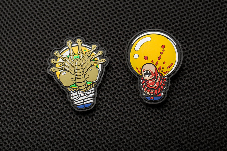 """APEX Face Hugger"" and ""APEX Chest Burster"" Patches by Aprilla Design™"