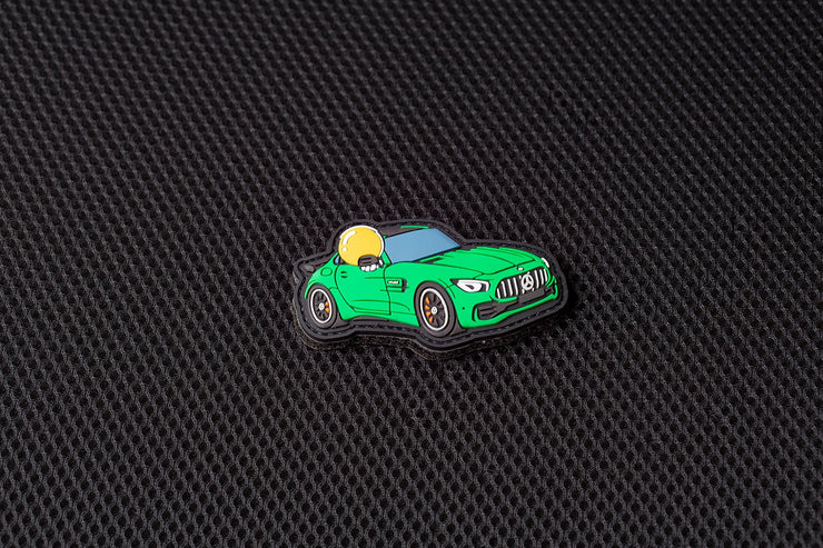 "APEX™ in AMG GT ""Beast of Green Hell"" Patch by Aprilla Design™"