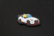 APEX™ in white NISMO GTR Patch by Aprilla Design™