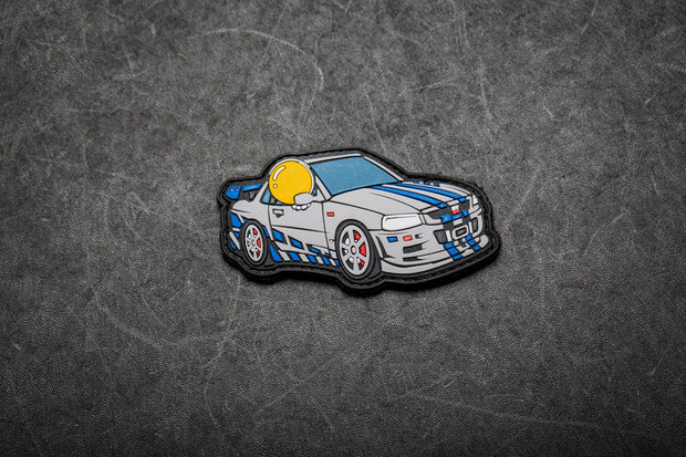 APEX™ in R34 Skyline GTR Tribute Patch by Aprilla Design™