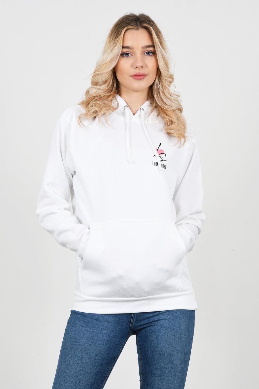 Lucy Sparks Embroidered Logo Hoodie