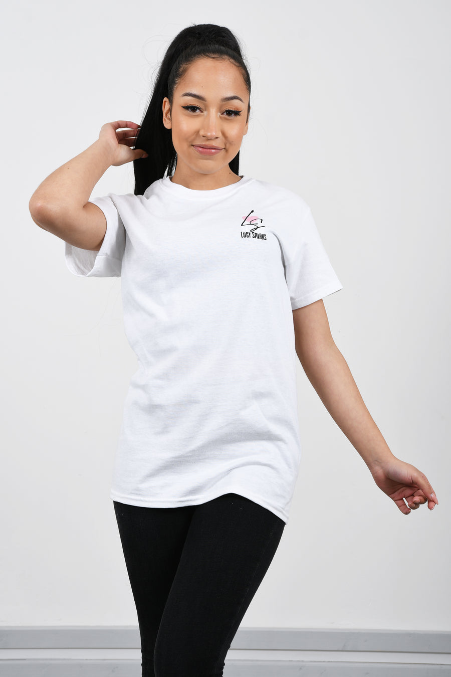 Lucy Sparks Branded Logo T-Shirt