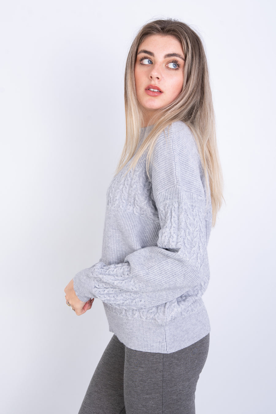 Sparkle Thread Knit Jumper