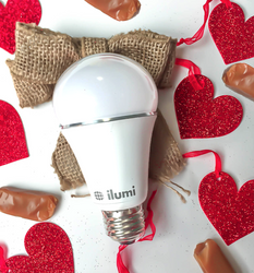 romantic lighting with LED smart light bulbs